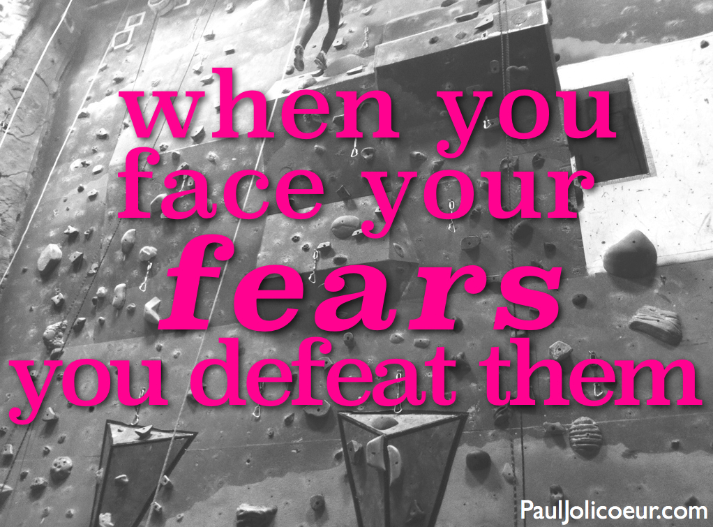 Face Fear Paul Jolicoeur