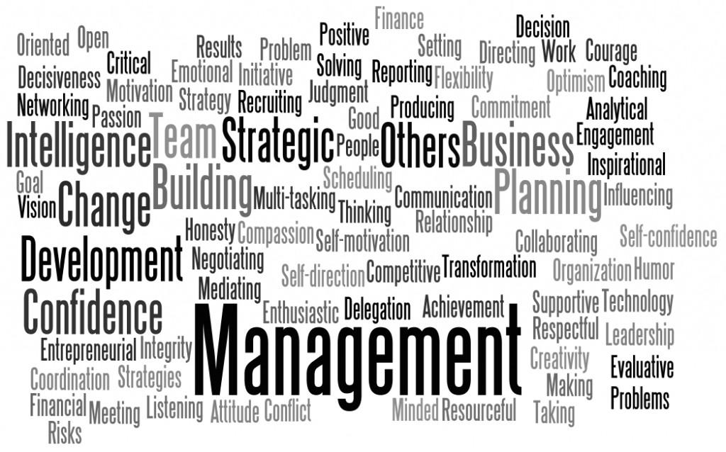 Leadership Word Map Paul Jolicoeur