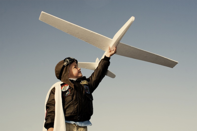 Kid with Plane Paul Jolicoeur Are You Crazy Enough
